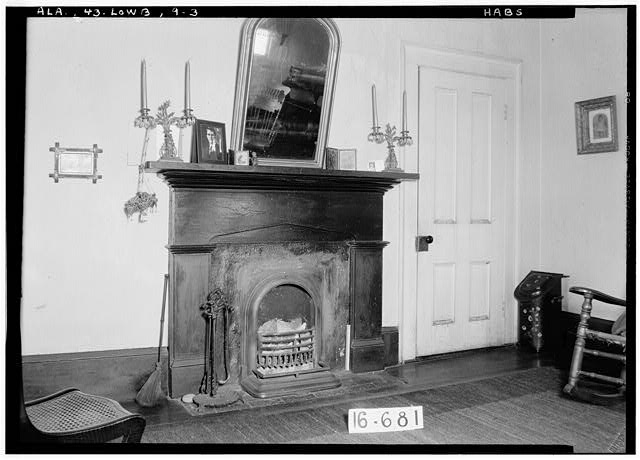 3.  Historic American Buildings Survey W. N. Manning, Photographer, March 29, 1935 MANTLE IN LIVING ROOM (N.W. ROOM) - Powell House, State Highway 97 (County Road 29), Lowndesboro, Lowndes County, AL