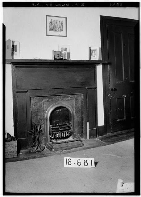 5.  Historic American Buildings Survey W. N. Manning, Photographer, March 29, 1935 MANTEL IN N.E. BED ROOM - Powell House, State Highway 97 (County Road 29), Lowndesboro, Lowndes County, AL