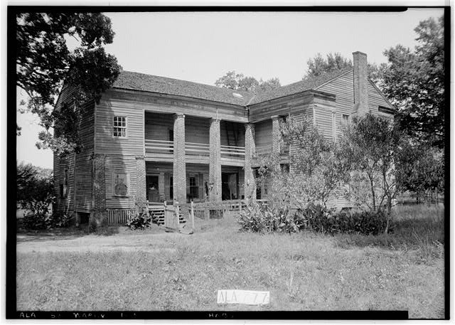 3.  Historic American Buildings Survey W. N. Manning, Photographer, September 24, 1935 REAR (WEST) AND SOUTH END - Lowrey-Ford House & Kitchen, Washington Street (County Road 45), Marion, Perry County, AL