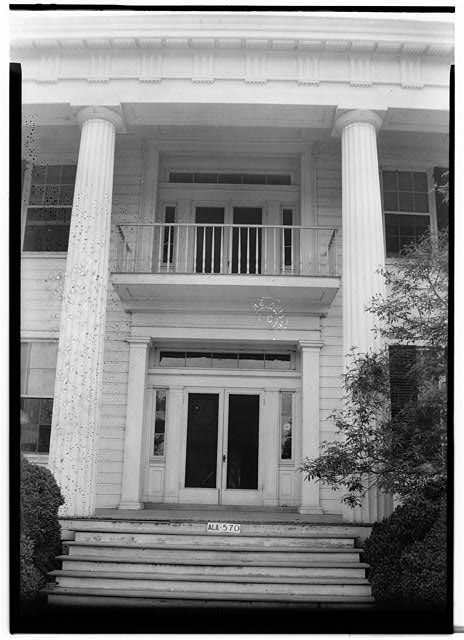 20.  Historic American Buildings Survey W. N. Manning, Photographer, May 18, 1935 FRONT ENTRANCE - Elmoreland, U.S. Highway 241, Glenville, Russell County, AL