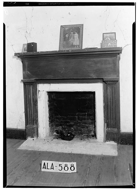 17.  Historic American Buildings Survey W. N. Manning, Photographer, July 18, 1935 MANTEL IN S. W. FRONT ROOM - Bass-Perry House, U.S. Highway 431, Seale, Russell County, AL