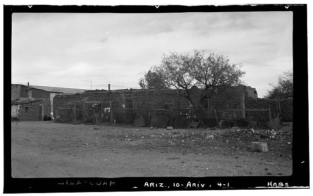 1.  Historic American Buildings Survey F. D. Nichols, Photographer January 1938 - House, Arivaca, Pima County, AZ