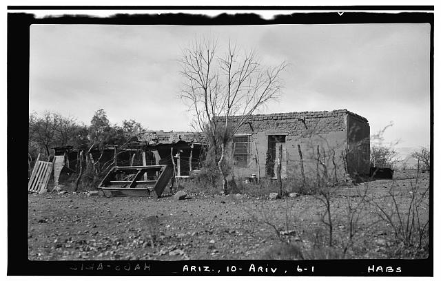 1.  Historic American Buildings Survey F. D. Nichols, Photographer January 1938 - House & Addition, Arivaca, Pima County, AZ