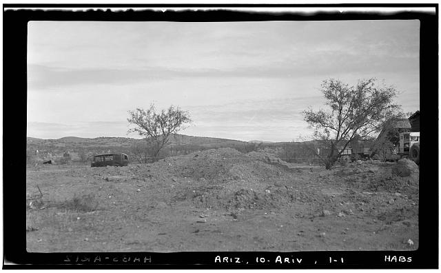 1.  Historic American Buildings Survey Frederick D. Nichols, Photographer December 1937. GENERAL VIEW - LOOKING NORTH EAST. - Santa Gertrudes de Arivaca, Arivaca, Pima County, AZ