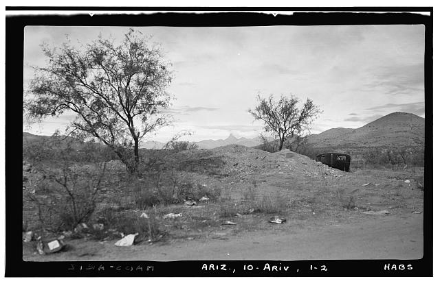 2.  Historic American Buildings Survey Frederick D. Nichols, Photographer December 1937. GENERAL VIEW - LOOKING NORTH WEST - Santa Gertrudes de Arivaca, Arivaca, Pima County, AZ