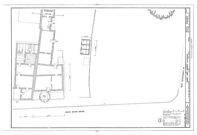 HABS ARIZ,10-TUCSO,30- (sheet 12 of 28) - Barrio Libre, West Kennedy & West Seventeenth Streets, Meyer & Convent Avenues, Tucson, Pima County, AZ
