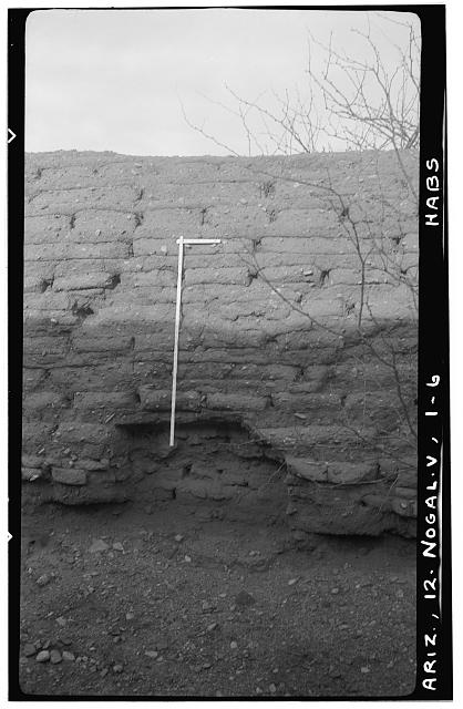 6.  Historic American Buildings Survey Delos H. Smith, photographer February 1940 - San Gabriel de Guevavi, Santa Cruz River, Nogales, Santa Cruz County, AZ