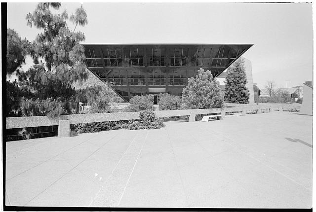 3.  Lobby level,looking east - Tempe Municipal Building, 31 East Fifth Street, Tempe, Maricopa County, AZ