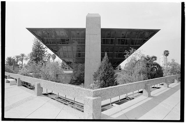 5.  Lobby level,looking northwest - Tempe Municipal Building, 31 East Fifth Street, Tempe, Maricopa County, AZ