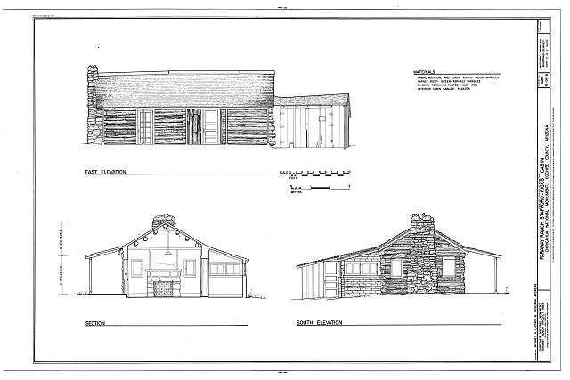 HABS ARIZ,2-WILCO.V,1B- (sheet 2 of 2) - Faraway Ranch, Stafford-Riggs Cabin, Willcox, Cochise County, AZ
