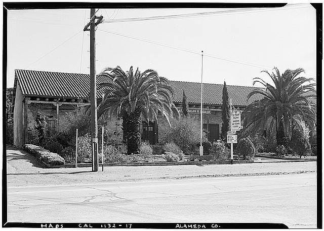 17.  Historic American Buildings Survey Robert W. Kerrigan, Photographer February 15, 1937 VIEW FROM WEST - Mission San Jose de Guadalupe, Mission & Washington Boulevards, Fremont, Alameda County, CA