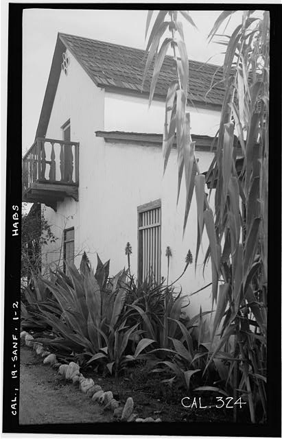 2.  Historic American Buildings Survey Photographed by Henry F. Withey December 1936 NORTH SIDE LOOKING EAST - Andres Pico House, 10940 Sepulveda Boulevard, San Fernando, Los Angeles County, CA
