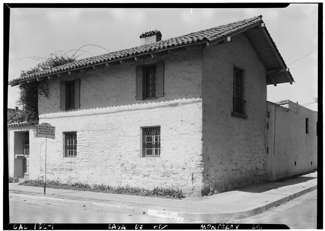 2.  Historic American Buildings Survey Robert W. Kerrigan, Photographer Photo Taken: May 13, 1936 VIEW FROM NORTHEAST - Casa del Oro, Scott & Oliver Streets, Monterey, Monterey County, CA