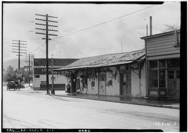 1.  Historic American Buildings Survey Roger Sturtevant, Photographer Feb. 16, 1934 EAST (NORTH) ELEVATION (FRONT) - Juan de Anza House, Third & Franklin Streets, San Juan Bautista, San Benito County, CA