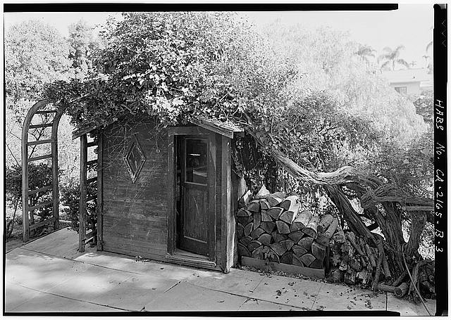 3.  GARDEN SHED - Albatross Cottages, Lee Cottage No. 1, 3367 Albatross Street, San Diego, San Diego County, CA