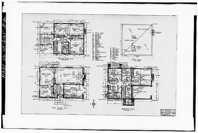 4.  PLANS - Albatross Cottages, Lee Cottage No. 1, 3367 Albatross Street, San Diego, San Diego County, CA