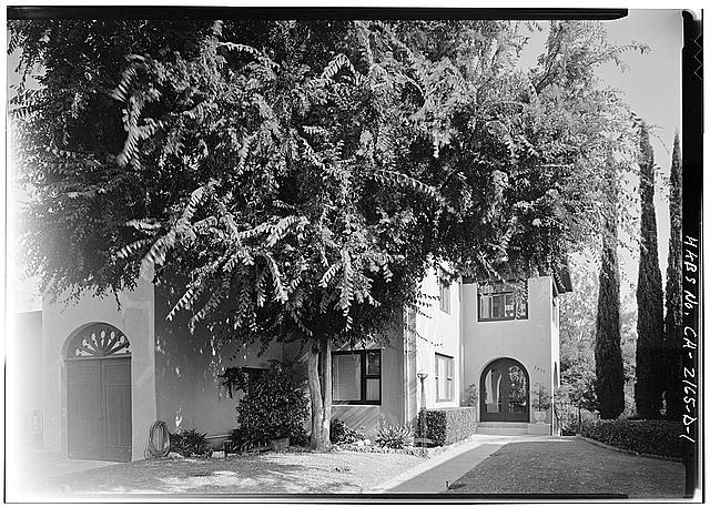 1.  WEST FRONT - Albatross Cottages, Teats Cottage No. 1, 3415 Albatross Street, San Diego, San Diego County, CA