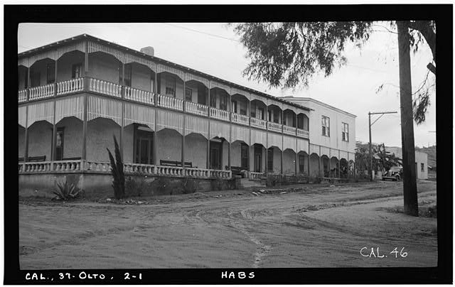 1.  Historic American Buildings Survey Photographed by Henry F. Withey December, 1936 SOUTH FRONT - Don Juan Bandini Home, Mason & Calhoun Streets, San Diego, San Diego County, CA