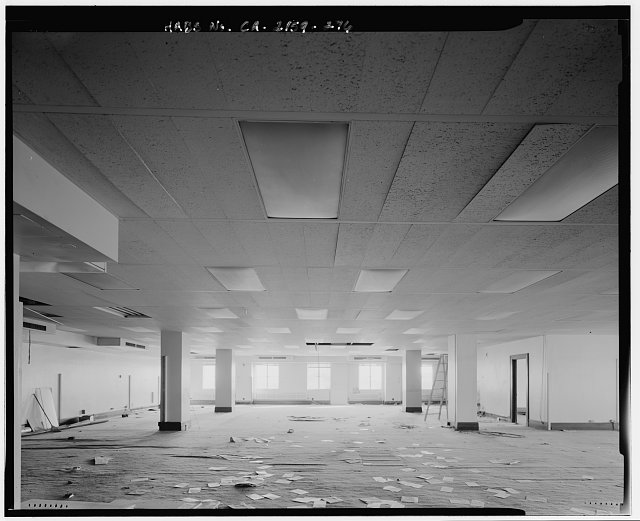 Bruce D. Judd, FAIA, Photographer August 1997. VIEW OF LOS ANGELES CITY HALL TWELFTH FLOOR ROOM 1200, FACING WEST - Los Angeles City Hall, 200 North Spring Street, Los Angeles, Los Angeles County, CA