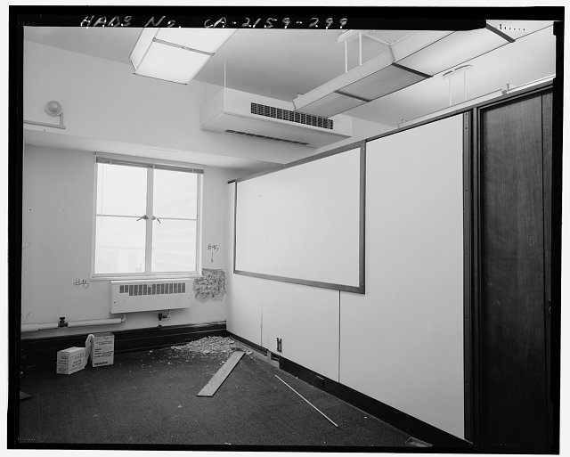 Monica Griesbach, Photographer August 1997. VIEW OF LOS ANGELES CITY HALL FOURTEENTH FLOOR NORTHWEST PARTITIONED OFFICE, FACING NORTHWEST - Los Angeles City Hall, 200 North Spring Street, Los Angeles, Los Angeles County, CA