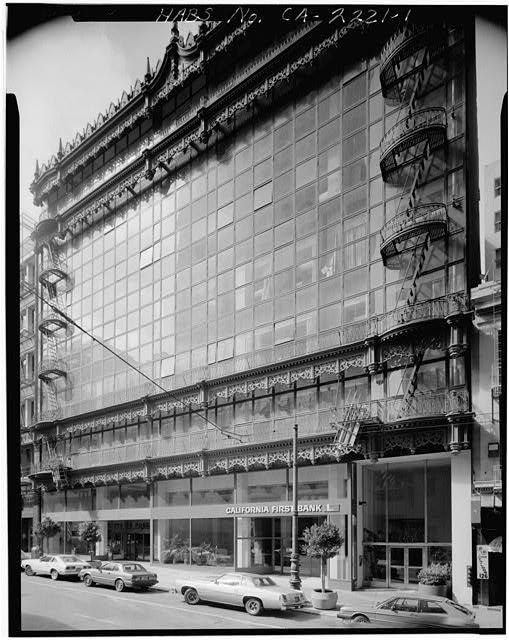 1.  GENERAL EXTERIOR VIEW - Hallidie Building, 130 Sutter Street, San Francisco, San Francisco County, CA