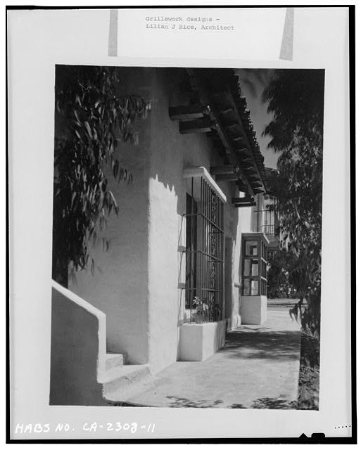 11.  SOUTHWEST SIDE, LOOKING SOUTH - Joers-Ketchum Store, 6014-6016 La Granada, Rancho Santa Fe, San Diego County, CA