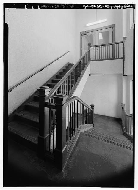 EAST STAIR, TOP PORTION - Berkeley Public Library, 2090 Kittredge Street, Berkeley, Alameda County, CA