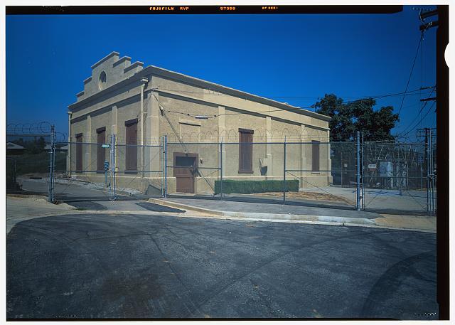 VIEW NORTHEAST, GARVANZA PUMPING STATION C, HIGHLAND PARK - Los Angeles Aqueduct, Garvanza Pump Station, Los Angeles, Los Angeles County, CA