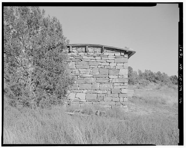 Marguerite Arnet Residence, left side, looking east. - Adam & Bessie Arnet Homestead, Marguerite Arnet Residence, 560 feet northeast of Adam & Bessie Arnet Residence, Model, Las Animas County, CO