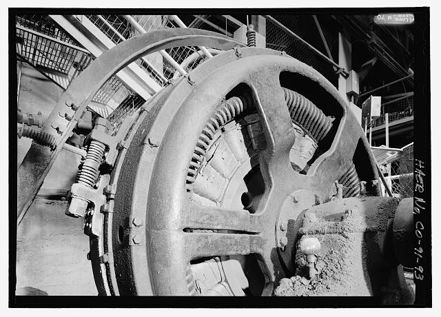 Detail of general electric 250 hp synchronous motor from for General electric motor company