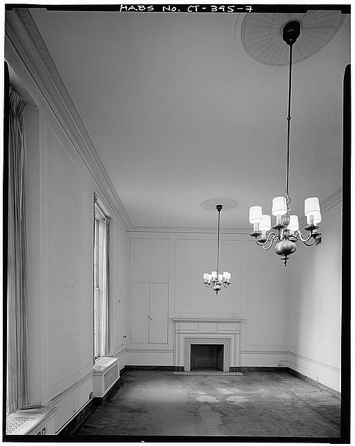 7.  SECOND FLOOR, BOARD ROOM, LOOKING WEST - Mechanics Savings Bank Building, 80 Pearl Street, Hartford, Hartford County, CT