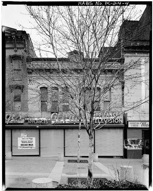 4.  FACADE - Adams Building, 816 F Street, Northwest, Washington, District of Columbia, DC