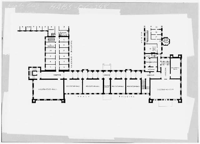 37 historic american buildings survey original drawing for Vice president house floor plan