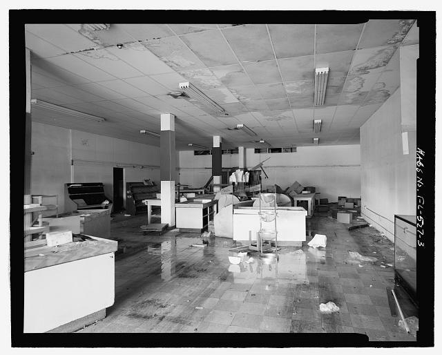 First floor interior, view looking east-northeast - Atlantic Furniture Company Building, 419 North Miami Avenue, Miami, Miami-Dade County, FL