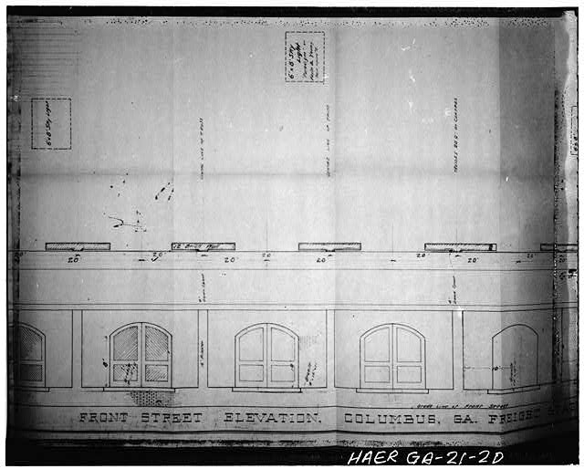 - Seaboard Airline Railway, Freight Depot, Front Avenue, 1200-1300 Blocks, Columbus, Muscogee County, GA