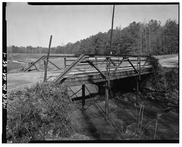 1.  VIEW OF GEORGIA DOT BRIDGE NO. 151/00144/X/00055S FROM THE WEST - Georgia DOT Bridge No. 151-00144-x-00055S, Spanning Little Cotton Indian Creek at Springdale Road (County Road 144), Stockbridge, Henry County, GA