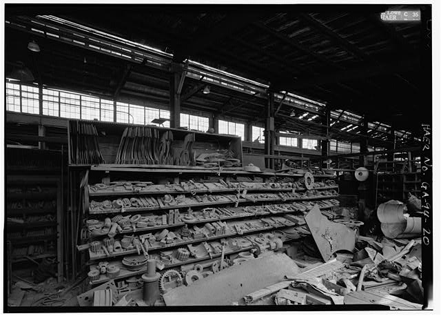 20.  STEAM EQUIPMENT TOOL AND DIE CRIB - Glover Machine Works, 651 Butler Street, Marietta, Cobb County, GA