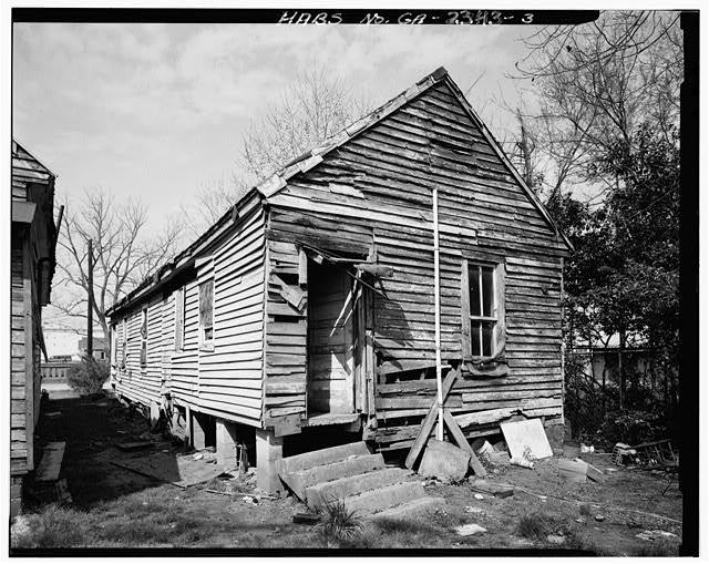 3.  View showing east rear and south side elevations - 1638 Fourth Avenue (House), Columbus, Muscogee County, GA