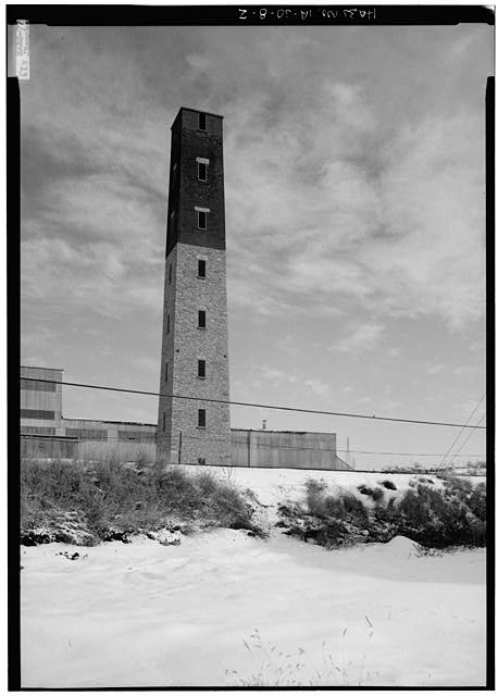 2.  GENERAL VIEW FROM THE SOUTHWEST - Shot Tower, Commercial & East Fourth Streets, Dubuque, Dubuque County, IA