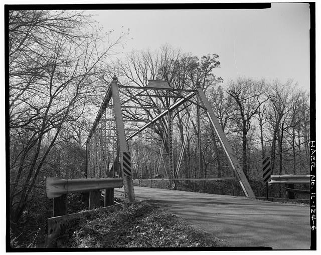 6.  EAST PORTAL, CLOSE VIEW - Butzow Bridge, Crescent City, Iroquois County, IL