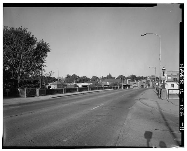 11.  VIEW FROM EAST APPROACH - Main Street Bridge, Spanning Fox River at State Route 72, West Dundee, Kane County, IL