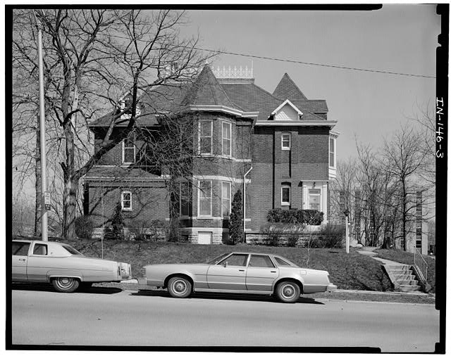 3.  SOUTH (SIDE) ELEVATION - Thomas Harrison House, 514 West Main Street, Richmond, Wayne County, IN