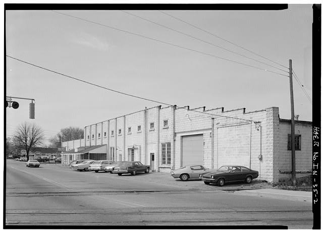 2.  EAST ELEVATION FROM NORTHEAST - Buckeye Manufacturing Company, Columbia Avenue, Anderson, Madison County, IN