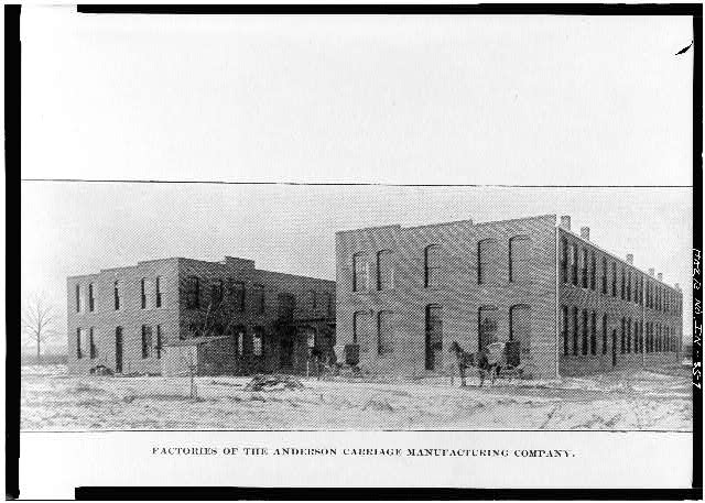 7.  PHOTOCOPY, FACTORIES OF THE ANDERSON CARRIAGE MANUFACTURING CO. - Buckeye Manufacturing Company, Columbia Avenue, Anderson, Madison County, IN