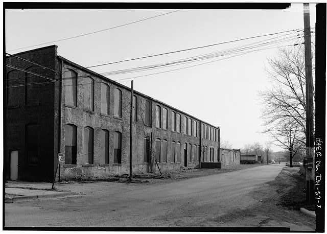 3.  GENERAL VIEW FROM NORTHEAST OF NORTH SIDE - Anderson Carriage Manufacturing Company, Twenty-fifth & Walton Streets, Anderson, Madison County, IN