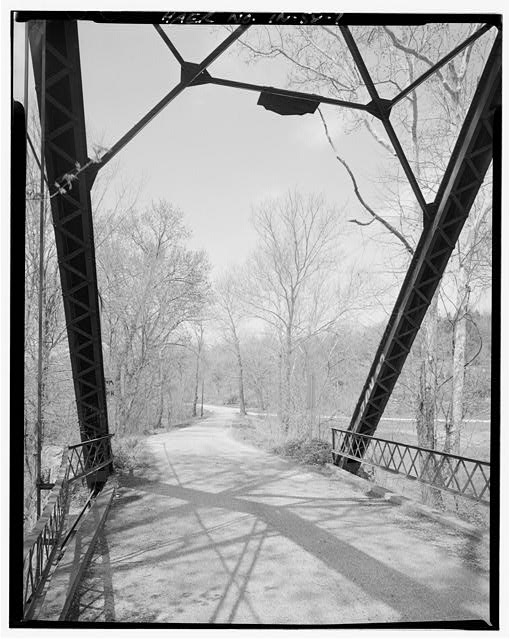 7.  North approach. - River Vale Bridge, Spanning White River on County Road 27, Bedford, Lawrence County, IN