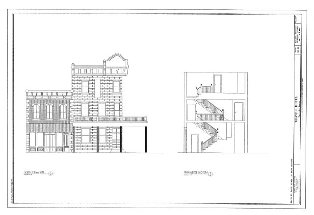 HABS KS-80 (sheet 7 of 9) - Weaver Hotel, 126 South Kansas Street, Waterville, Marshall County, KS