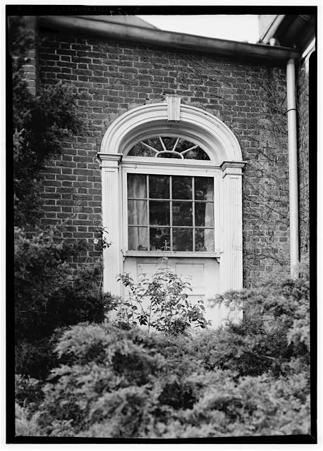 8.  Historic American Buildings Survey Lester Jones, Photographer May 26, 1940 RESTORED WINDOW ON SOUTH ELEVATION - Ridgeway, 4095 Massey Avenue, Saint Matthews, Jefferson County, KY