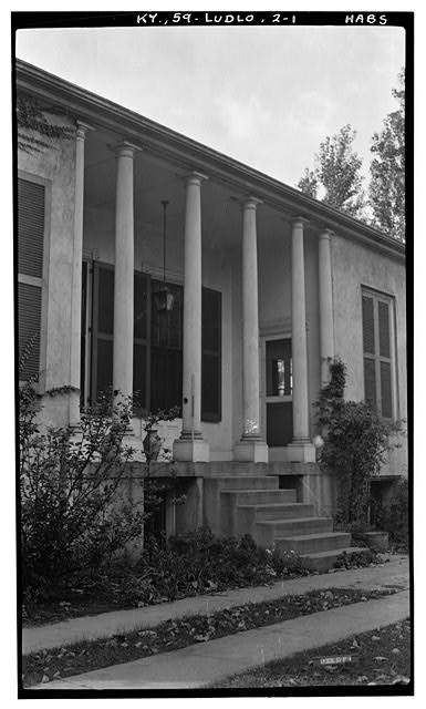 1.  Historic American Bldgs. Survey Photographers: (E.F. Schrand (A. Arend, Nov. 6, 1936 DETAIL OF PORCH (East Elevation) - Elmwood Hall, 246 Forest Avenue, Ludlow, Kenton County, KY