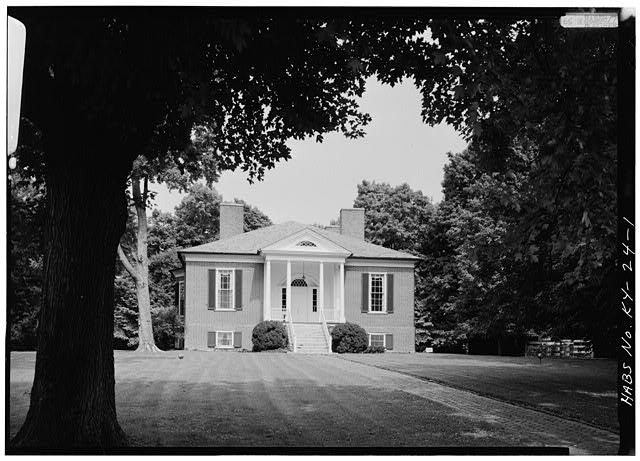 14.  GENERAL VIEW OF THE HOUSE - Farmington, 3033 Bardstown Road, Louisville, Jefferson County, KY